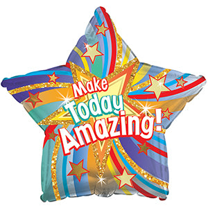 Make Today Amazing Air-Filled Stick Balloon