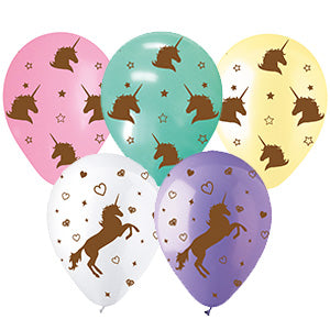 Unicorns Assorted Latex All-Around Print