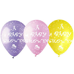 Baby Shower Assorted Latex All-Around Print