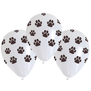 Paw Prints Assorted Latex All-Around Print