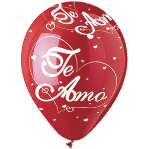 "Te Amo ""I Love You"" Latex All-Around Print"