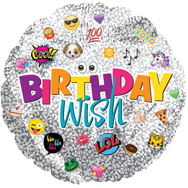 Birthday Wish Emoticons
