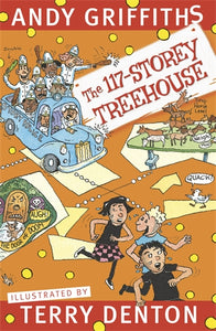 The 117 Story Treehouse - Andy Griffiths & Terry Denton