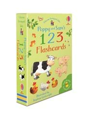 Usborne Farmyard Tales - Poppy and Sam's 123 Flashcards