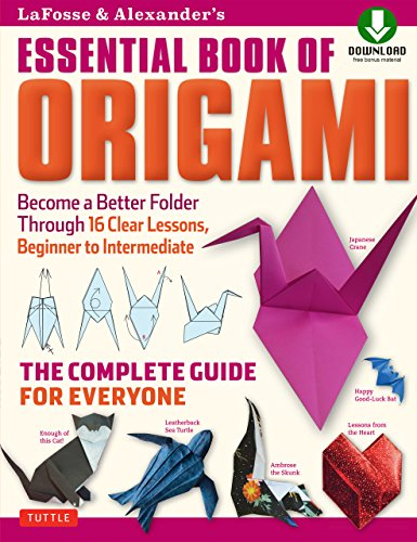 Essential Book of Origami with DVD