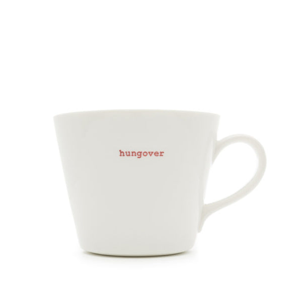 Mug - Hungover 350ml Bucket Mug
