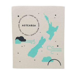 Toodles Noodles - Aotearoa - Swedish Dishcloth