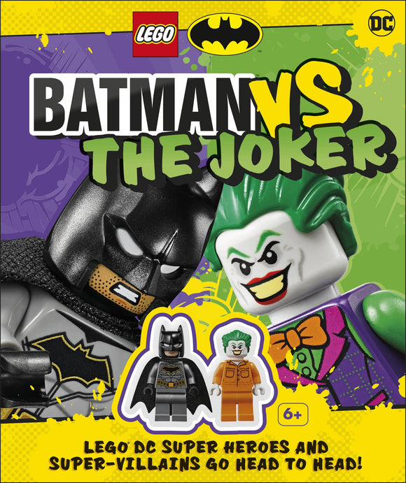 LEGO Batman Batman Vs. The Joker with two LEGO minifigures
