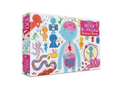 The Human Body 100 piece Jigsaw and Book - Usborne