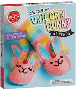 Klutz: Sew Your Own Unicorn Slippers
