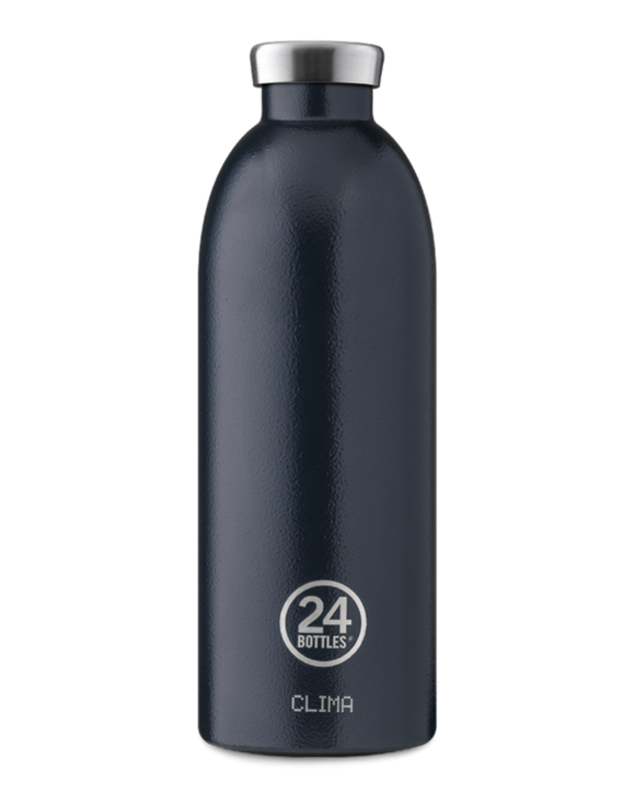 Clima  Drink Bottle by 24Bottles - 850ml Deep Blue