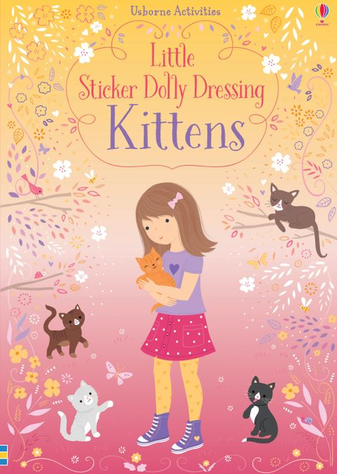 Little Sticker Book - Dolly Dressing Kittens