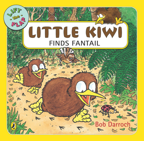 Little Kiwi Finds Fantail - Bob Darroch