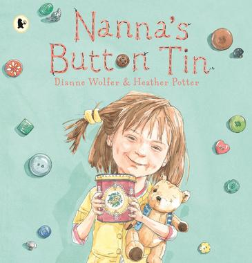 Nanna's Button Tin - Dianne Wolfer & Heather Potter