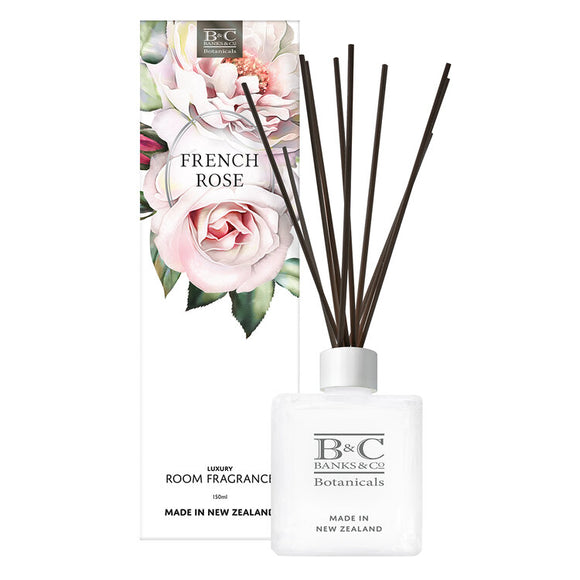 Reed Diffuser : French Rose Room Diffuser