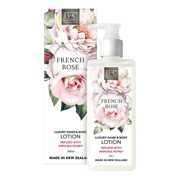 French Rose Luxury Lotion 300ml