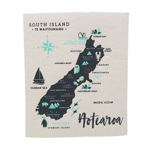 Toodles Noodles - South Island - Swedish Dishcloth