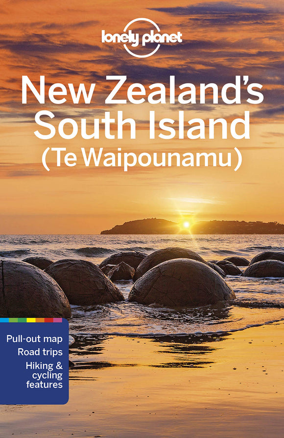 Lonely Planet New Zealand's South Island (Te Waipounamu) 7th Edition
