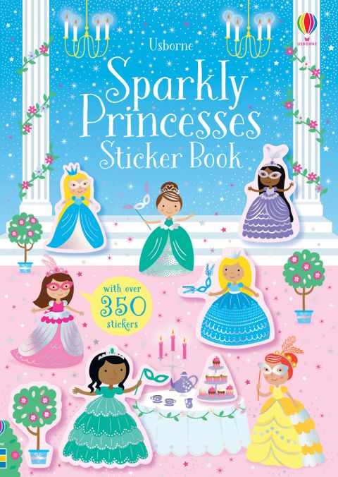 Little Sticker Book - Sparkly Princesses