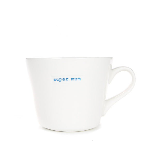 Mug - Super Mum 350ml Bucket Mug