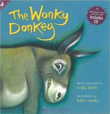 The Wonkey Donkey : Picture Book with CD - Craig Smith  - The Hilarious #1 Bestseller