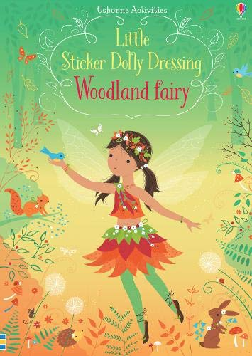 Sticker Book - Dolly Dressing Woodland Fairy
