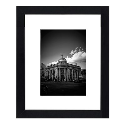 Erick Kaine (Framed Print) - City Views