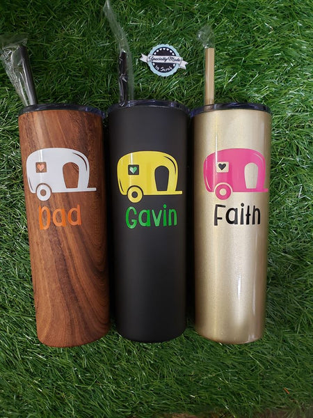 NEW 20oz Tall Stainless Steel Tumbler