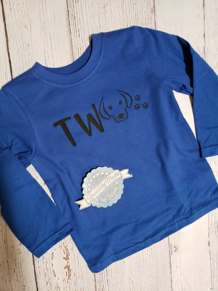 Toddler Long Sleeve Unisex Customizable Shirt