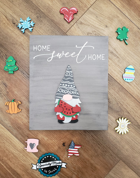 Gnome Wooden TAKE and MAKE Seasonal Kit
