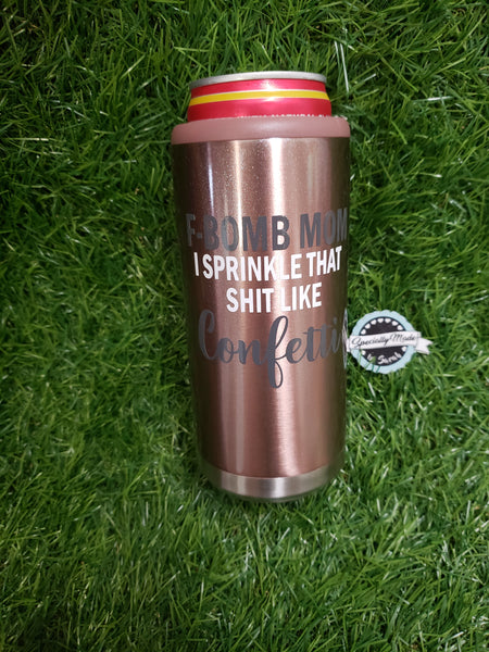 Stainless Steel Skinny Can Cooler