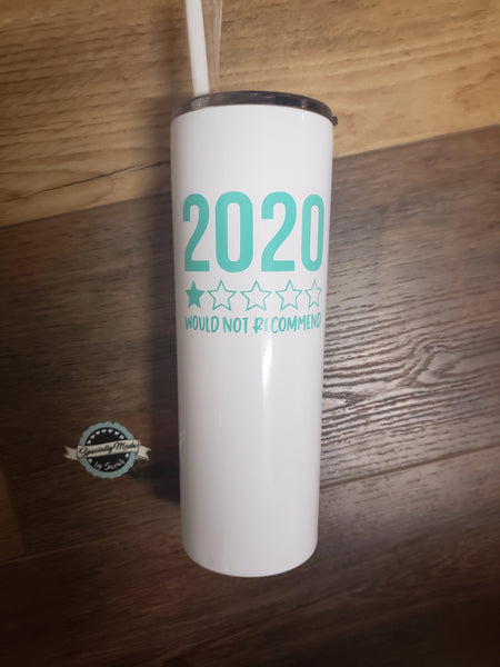 20oz Tall Stainless Steel Tumbler