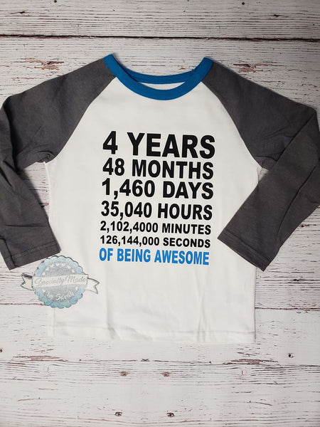 Toddler Unisex Long Sleeve Raglan Customizable Shirt