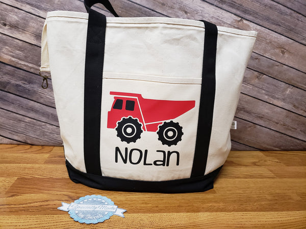 Open Canvas Personalized Tote Bag 19″