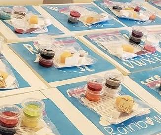 TAKE and MAKE Hand Prints Kit.