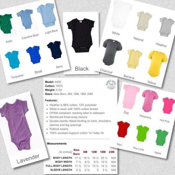 Color Bodysuits Short Sleeve Customizable Shirts