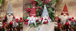 Personalized Christmas Gnomes