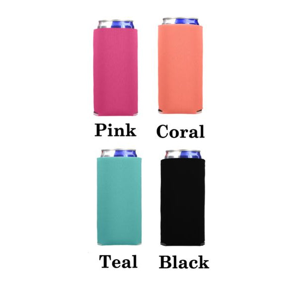 Collapsible Skinny Can Cooler