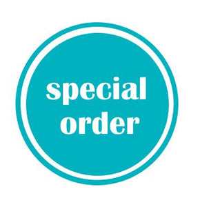 Special Order – Non Clothing
