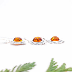 Timeless Amber Jewellery Set