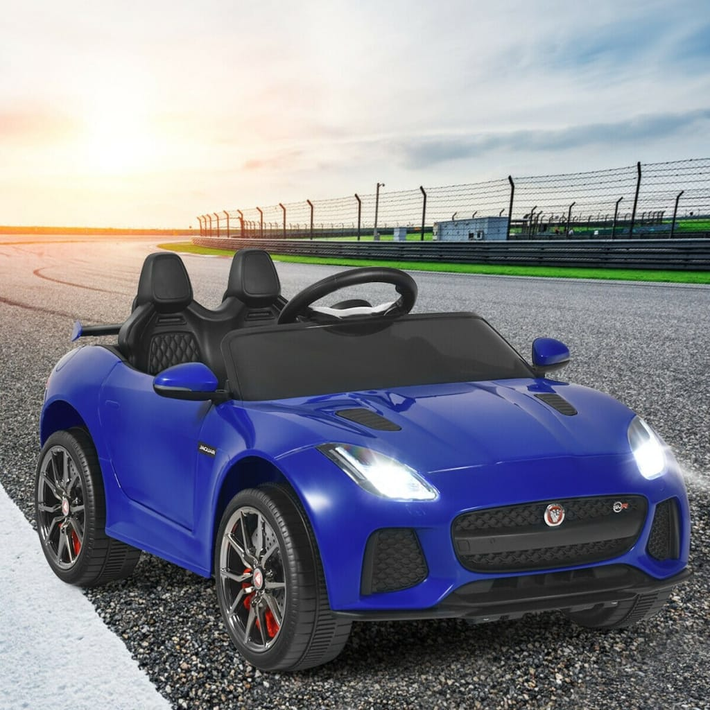 12V Jaguar F-Type SVR Licensed Kids Ride On Car