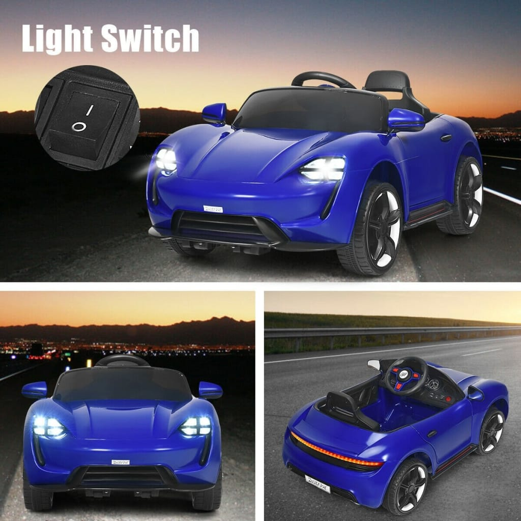 12V Kids Ride On Car With MP3 And LED Light
