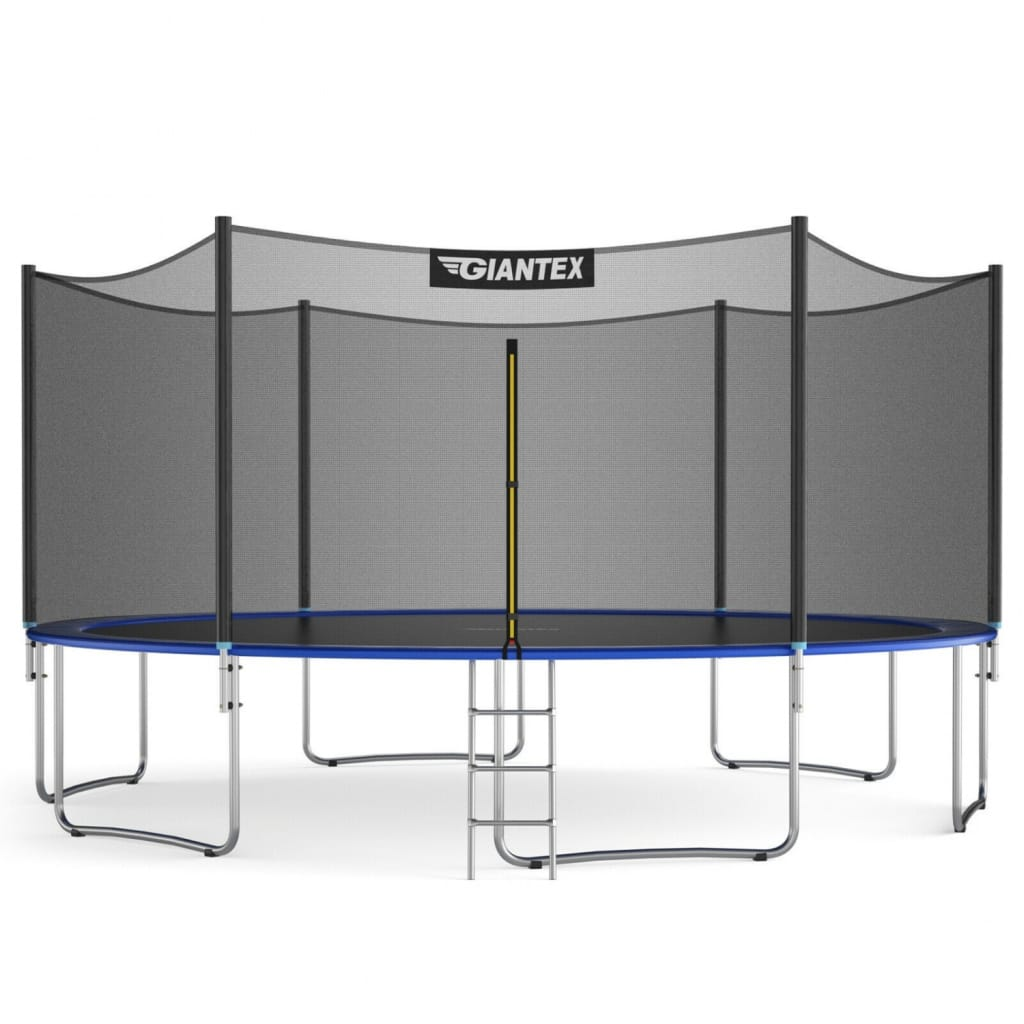 15 Ft Outdoor Trampoline Combo With Bounce Jump Safety