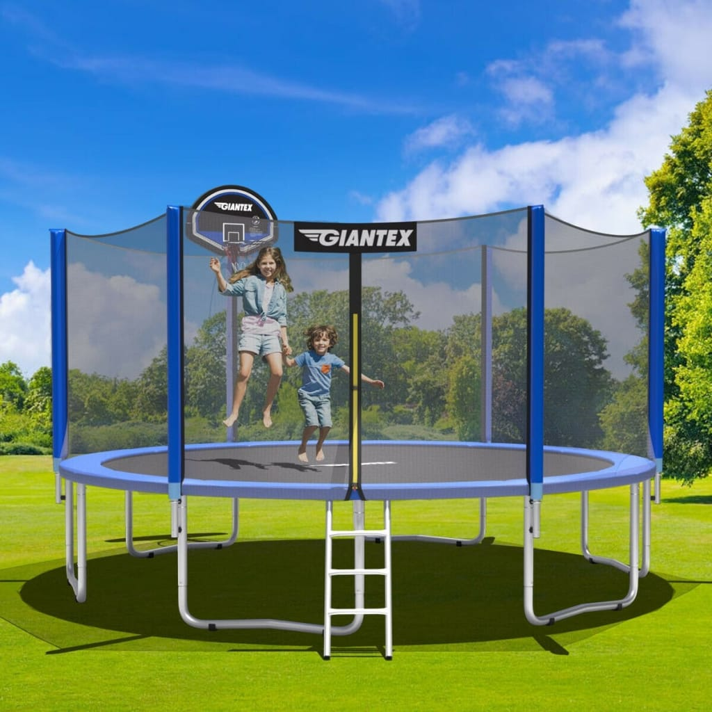 16ft Bounce Jump Safety Enclosure Net