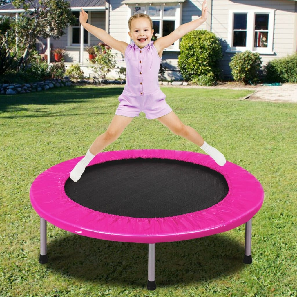 38 Rebounder Trampoline Adults And Kids Exercise Workout