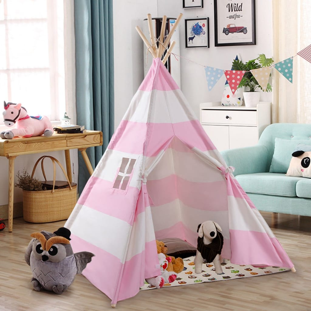 5' Portable Indian Children Sleeping Dome Play Tent