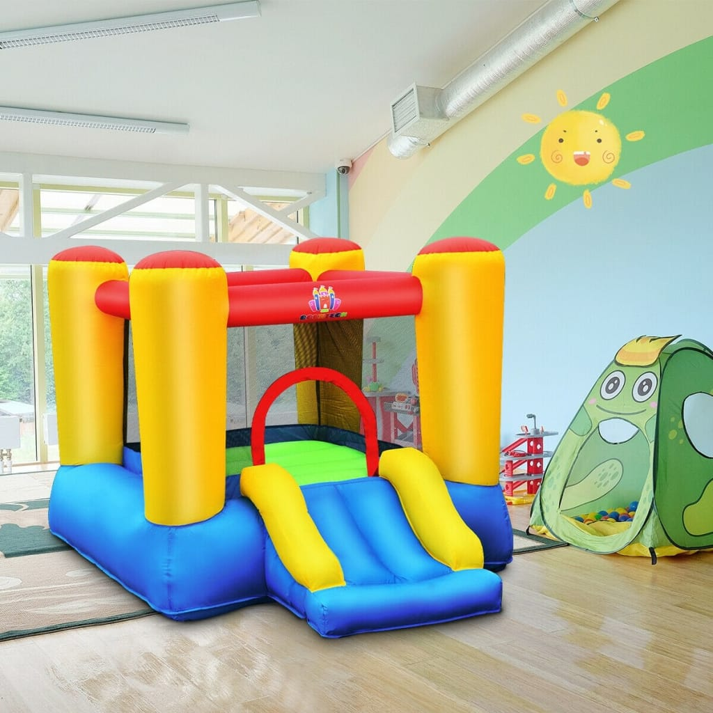 Inflatable Kids Bounce House Slide For Indoor Outdoor