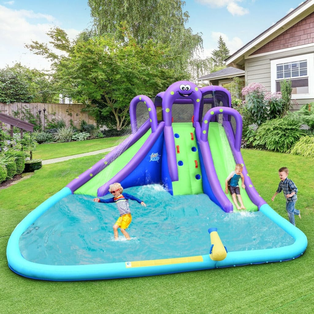 Inflatable Water And Sand Park Mighty Bounce House With