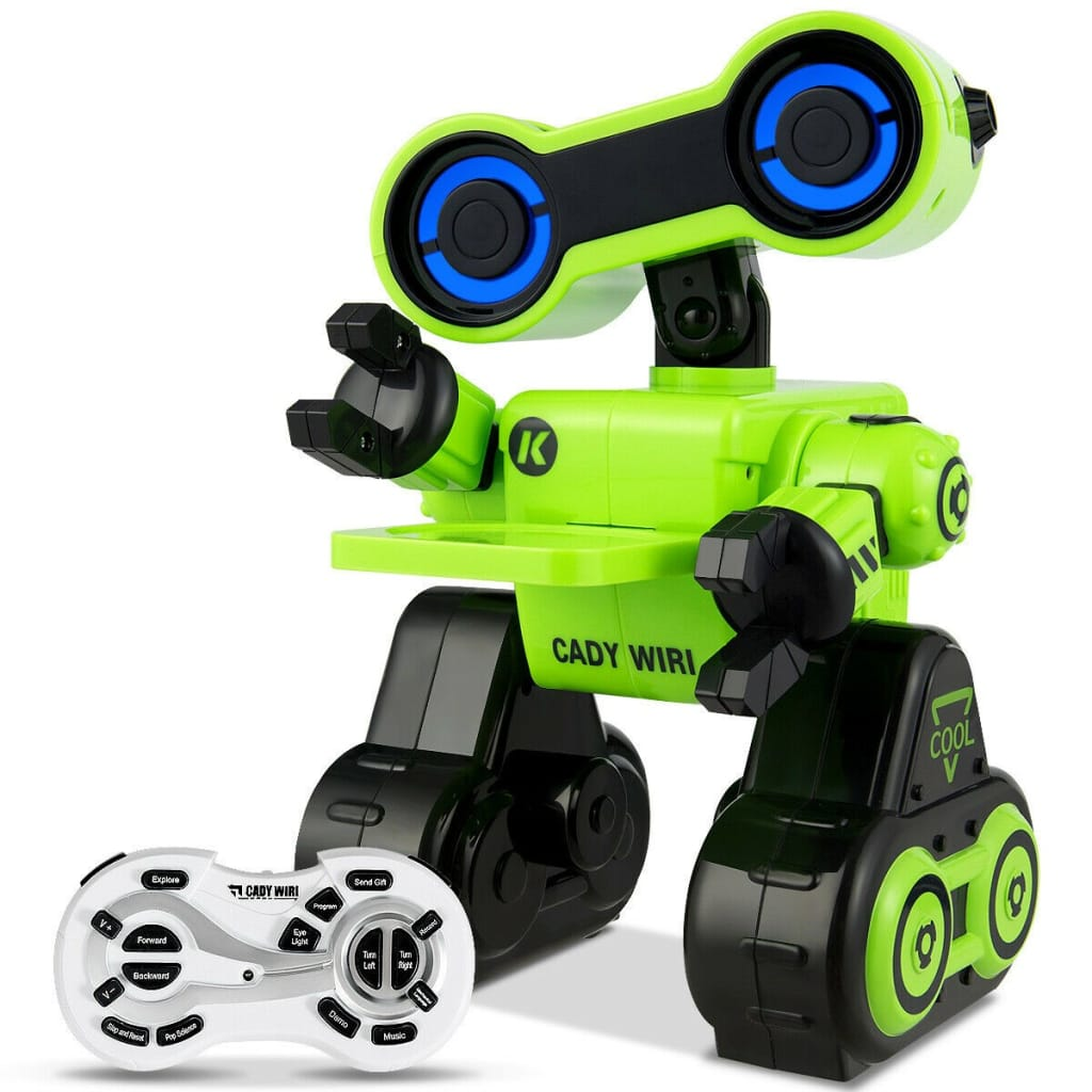 Intelligent Programmable Interactive Remote Control Robot