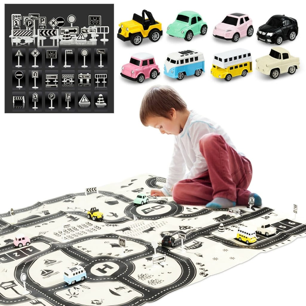 Kids Educational Large City Life Traffic Map